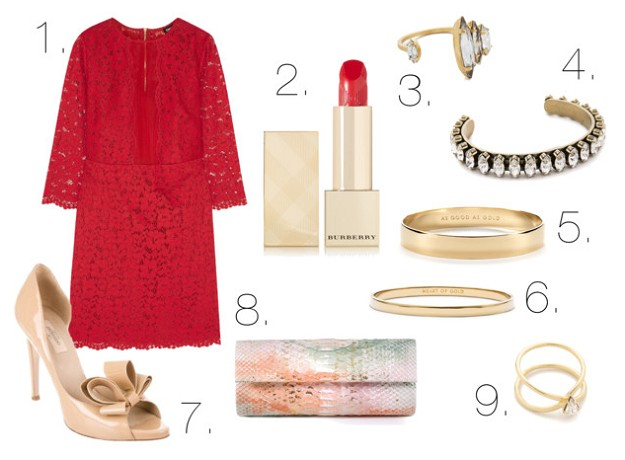 Tips & Tricks:How To Achieve Your Perfect Look | The Necessity of Something Red | Mel Boteri Style Guide