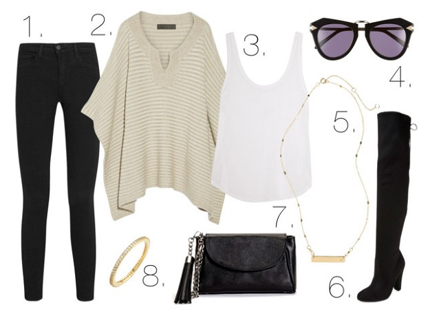Style Mistakes: Transitioning From Summer to Fall | Oversized Sweaters | Mel Boteri Style Guide