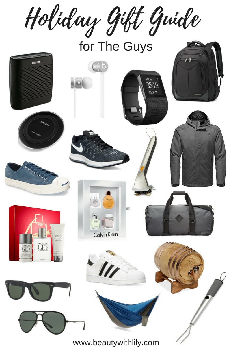 Ultimate Gift Guide for Men | beautywithlily.com