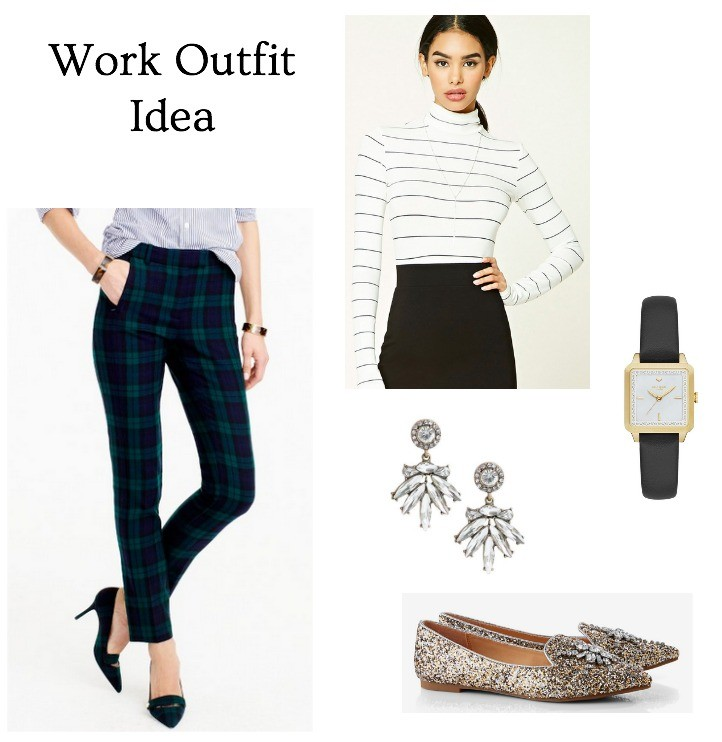 winter work outfit that is stylish