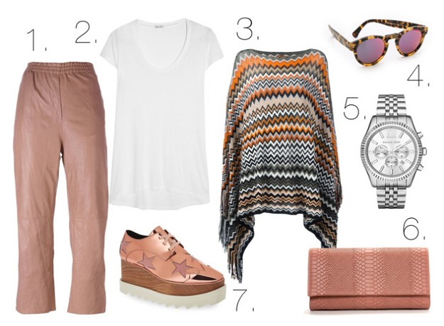Leather Weather: How To Have Fun With This Trend | Leather Pants | Mel Boteri Style Guide