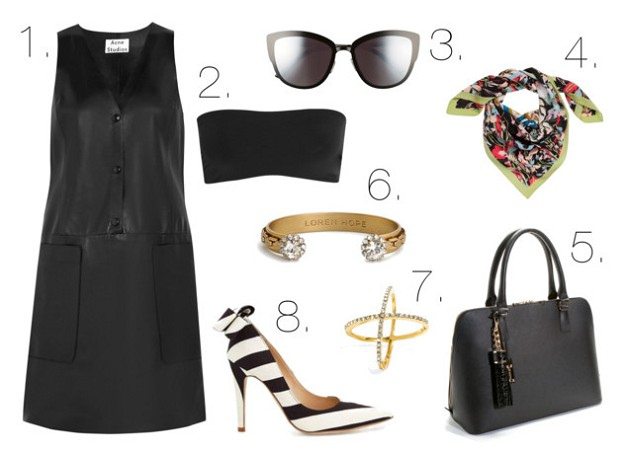 Leather Weather: How To Have Fun With This Trend | Leather Dresses | Mel Boteri Style Guide