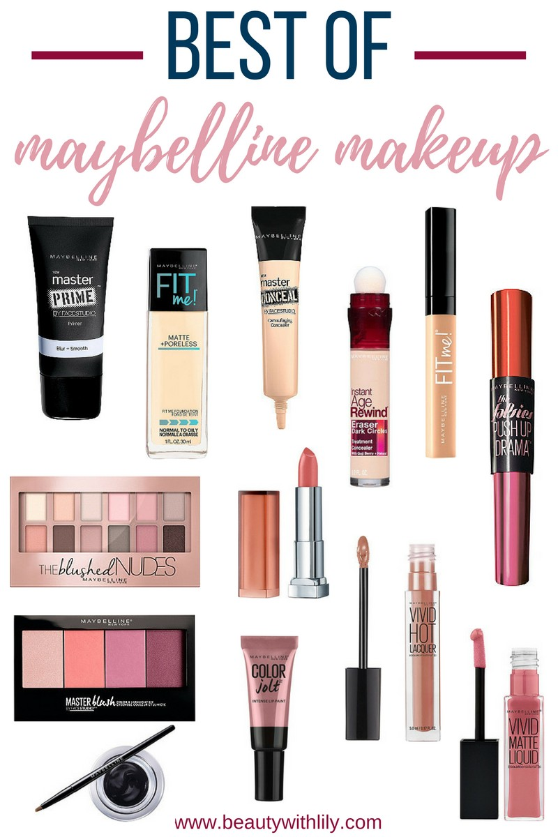Best Maybelline Products // The Best of Maybelline // Affordable Drugstore Makeup - Beauty With Lily, A West Texas Beauty, Fashion & Lifestyle Blog