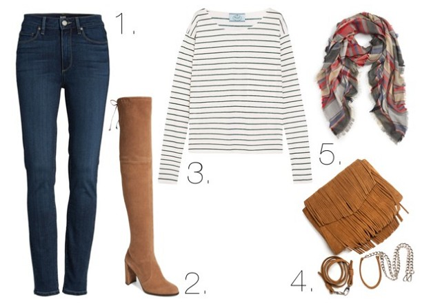 Style Guide: Your Last Minute Thanksgiving Day Look | Cozy Casual
