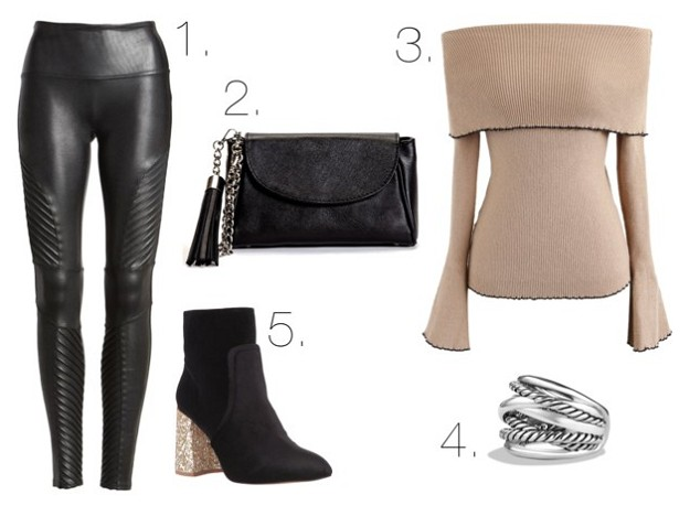 Style Guide: It's Beginning To Look A Lot Like Winter | Multipurpose Leather Leggings