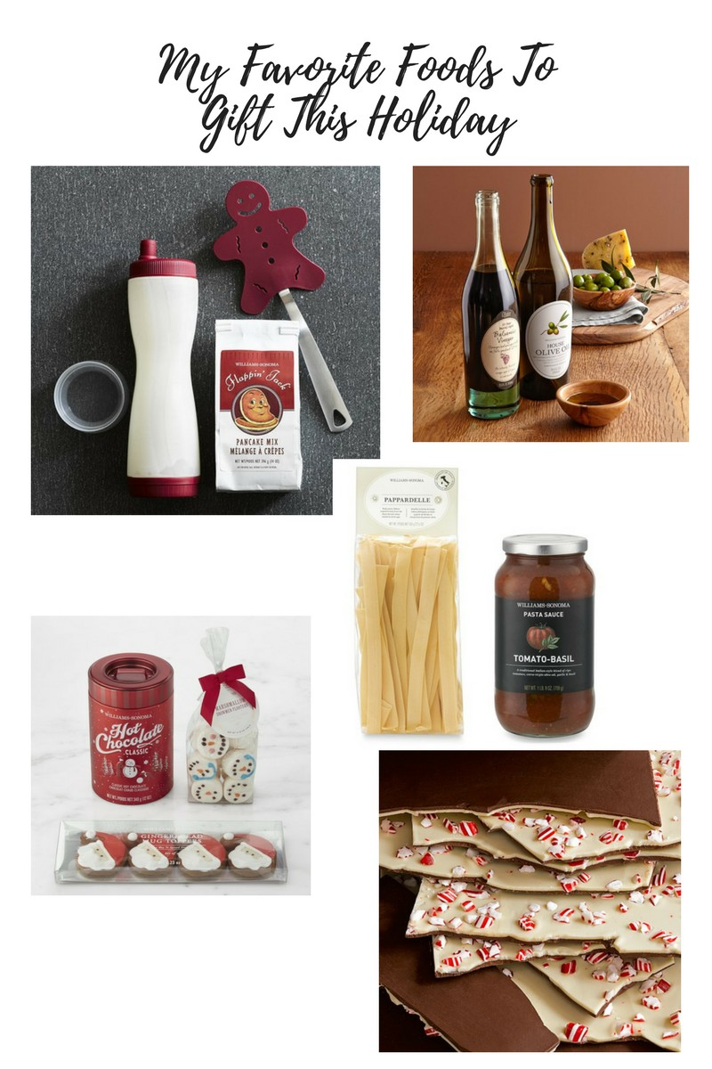 My Favorite Foods From Williams Sonoma To Gift This Holiday
