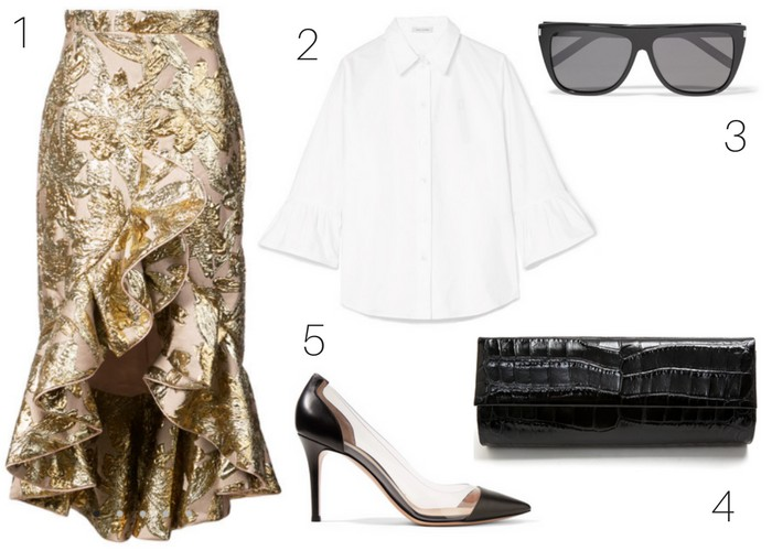 Style Guide: Ruffle Me Crazy | Get The Look: Sassy Ruffles
