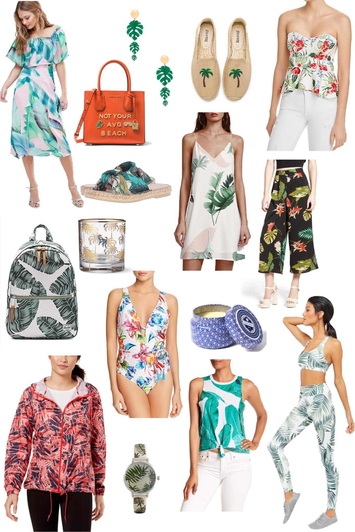 Friday Fizz: Tropical Fashion Vibes featured by popular Chicago style blogger Glass of Glam