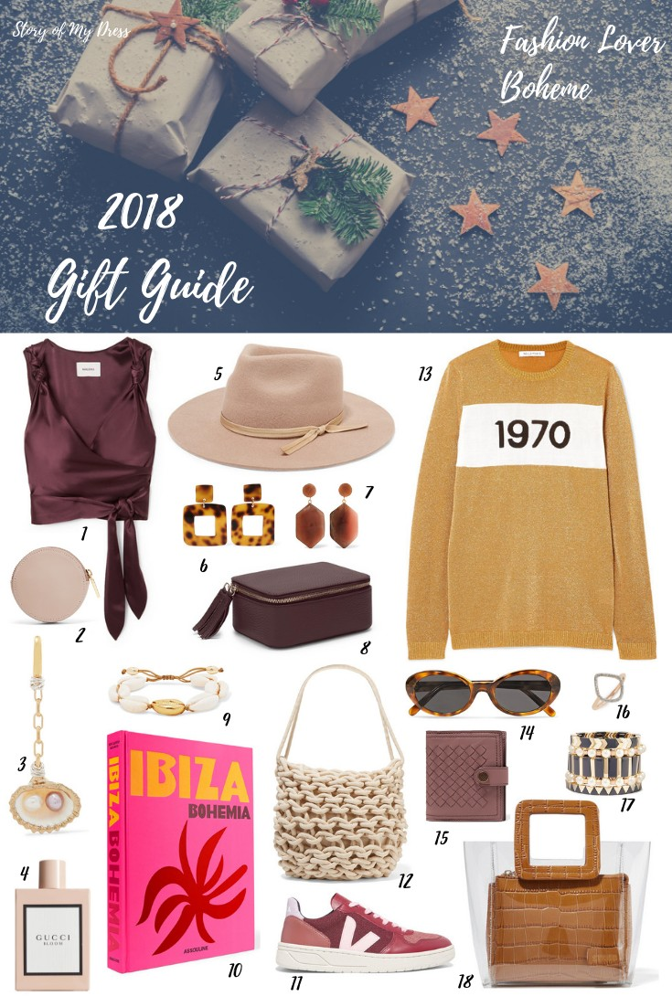 Gift Guide: Fashion Lover Boheme