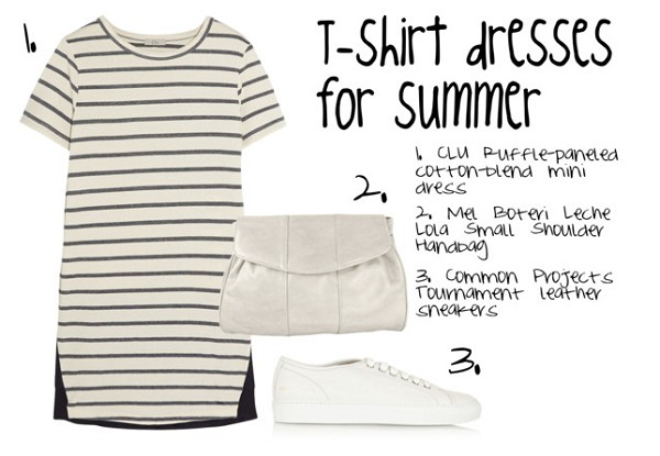 T-Shirt Dress for Summer 2015 According to Google Fashion Trends Report