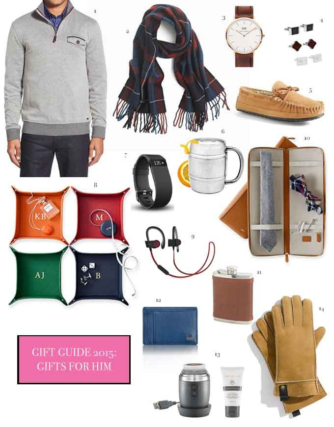 Gift Guide 2015 Gifts He Will Love Cella Jane