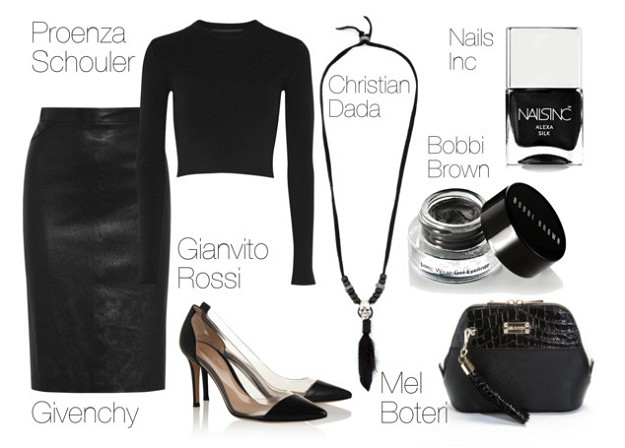 All-black Looks for Winter: How to Create Modern All Black Outfits | All Black Highlighted by Statement Pieces | Mel Boteri Style Guide