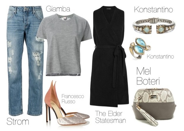 Style Guide: How to Put a Modern Spin on Grunge | Denim Love | Mel Boteri Style Guide