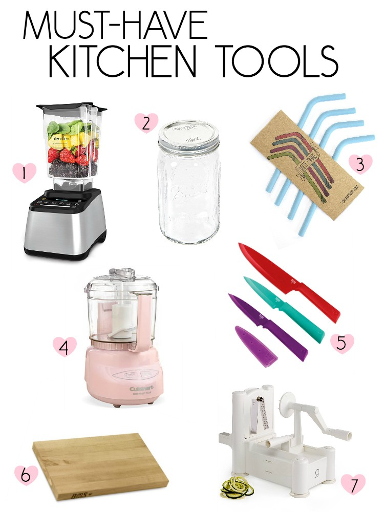 7 Must Have Kitchen Tools » The Glowing Fridge