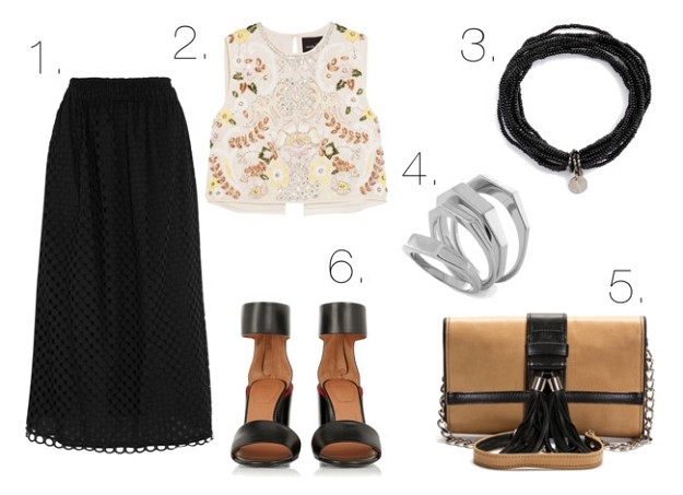 Style Tips & Tricks: How to Wear a Black Skirt | A-line Black Skirt | Mel Boteri Style Guide