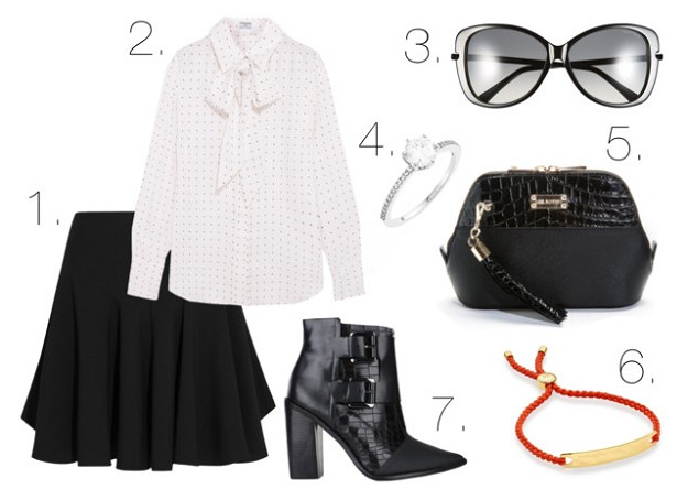 Style Tips & Tricks: How to Wear a Black Skirt | Pleated Black Skirt | Mel Boteri Style Guide