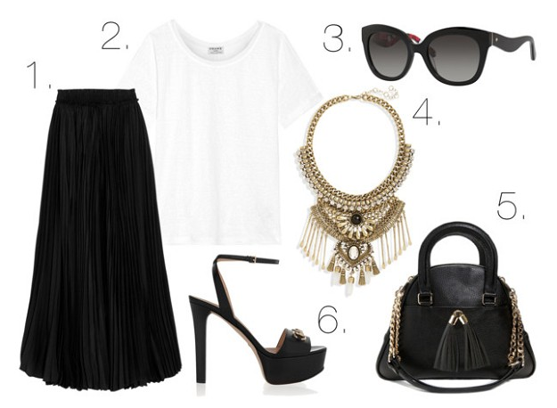 Style Tips & Tricks: How to Wear a Black Skirt | Maxi Black Skirt | Mel Boteri Style Guide