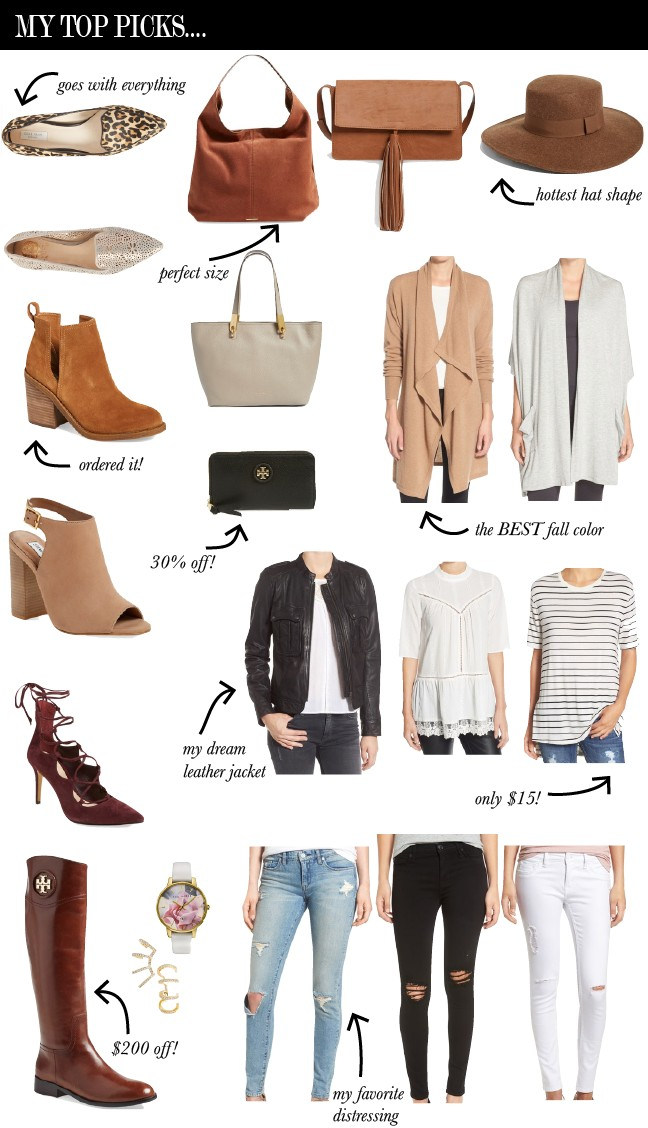 2016 NORDSTROM SALE PICKS
