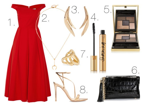 Dress Code: What to Wear to a Cocktail Party | Red Dress | Mel Boteri Style Guide