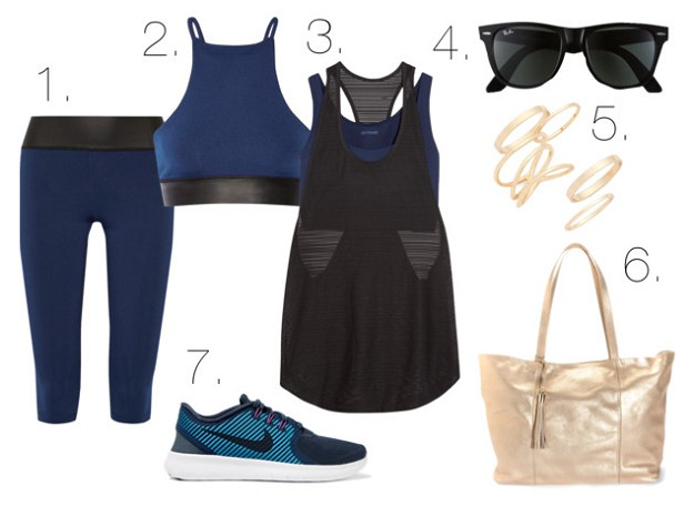 Style Guide: Stay Stylish At The Gym | On The Top | Mel Boteri Style Guide