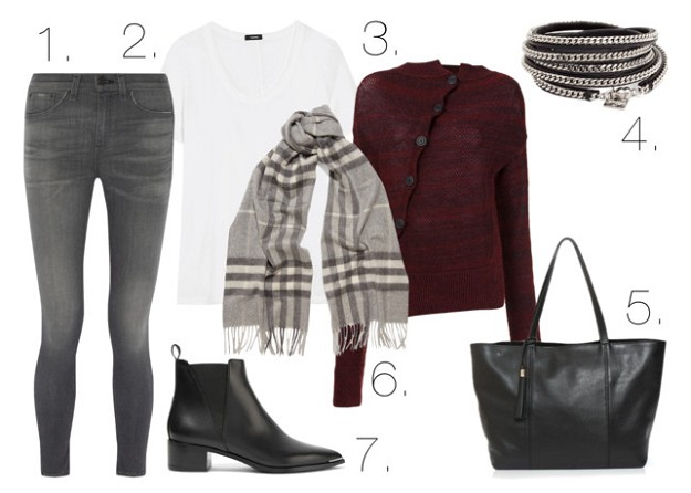 Style Guide: How to Be Fashionable in Burgundy | Burgundy and Other Colors | Mel Boteri Style Guide