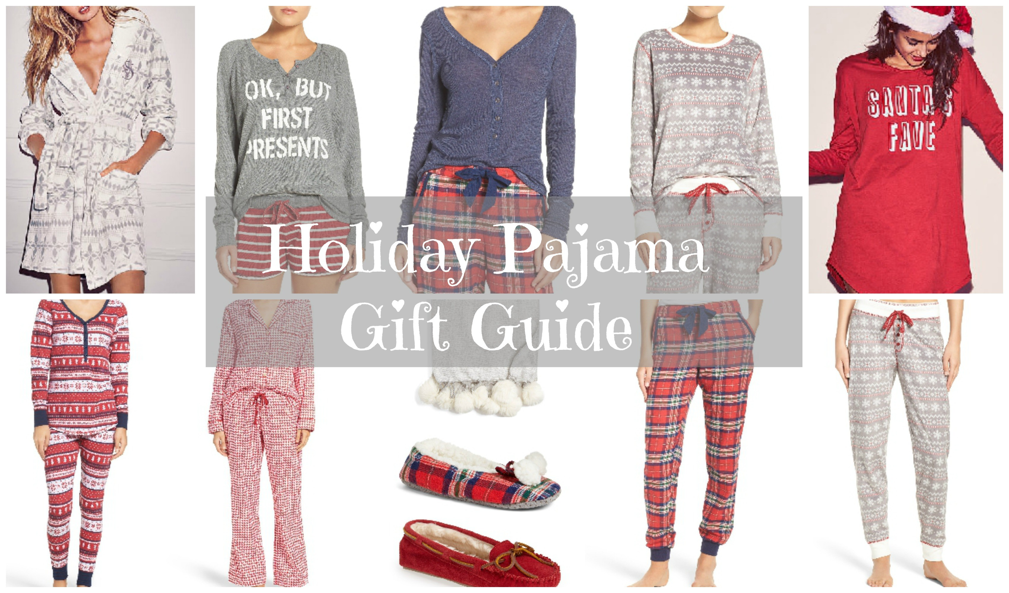 Black Friday Holiday Pajamas