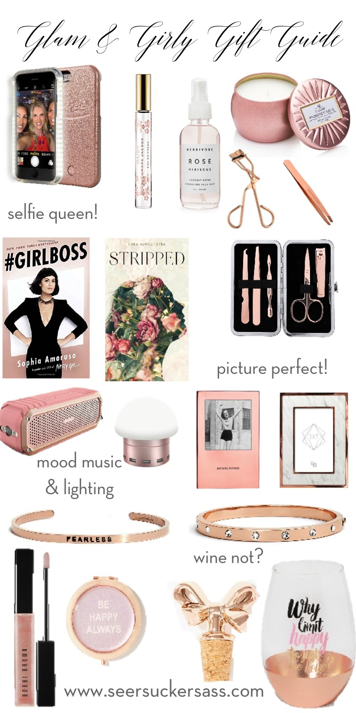 Gift Guide:  Glam & Girly