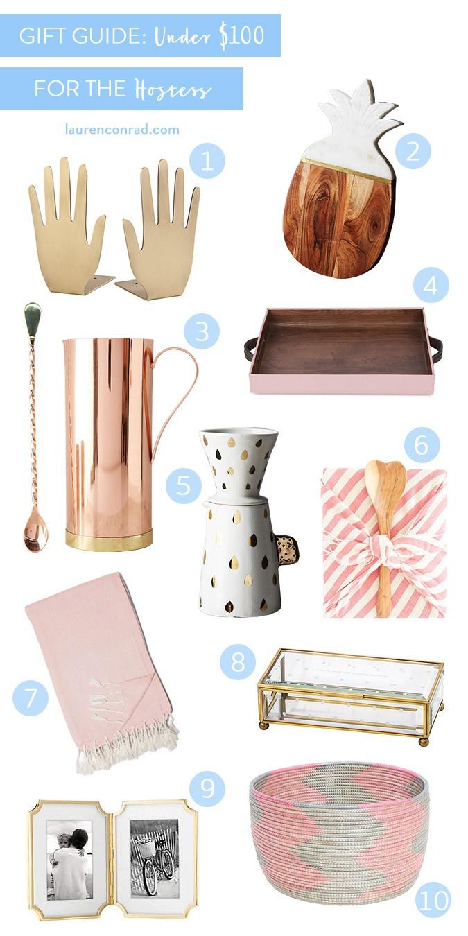 Gift Guide For The Hostess Lauren Conrad