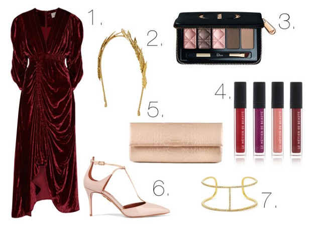 Style Guide: Holiday Dresses | Velvet Dress | Mel Boteri Style Guide