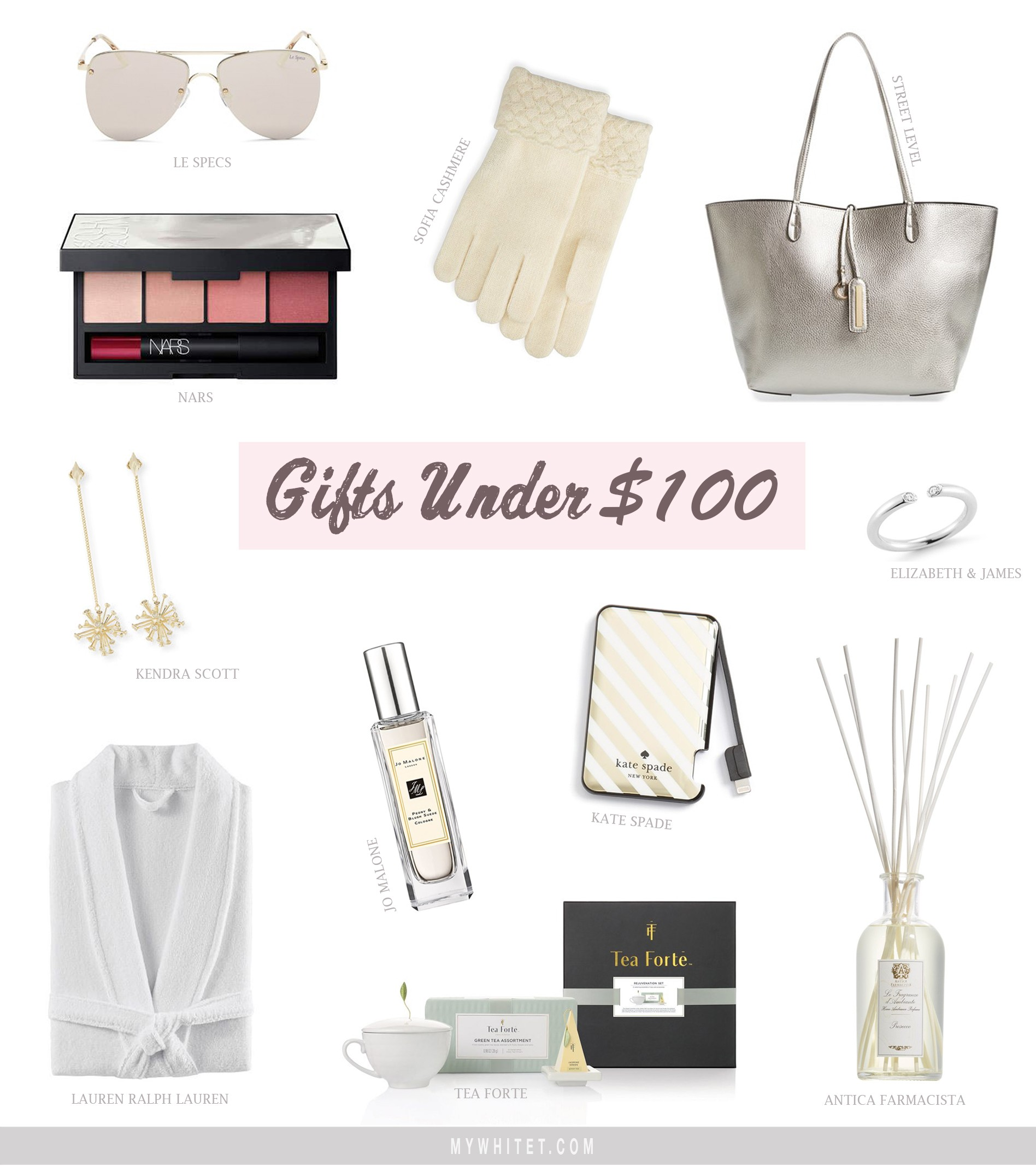 The Best Holiday Gifts Under $50 and $100 - mywhiteT