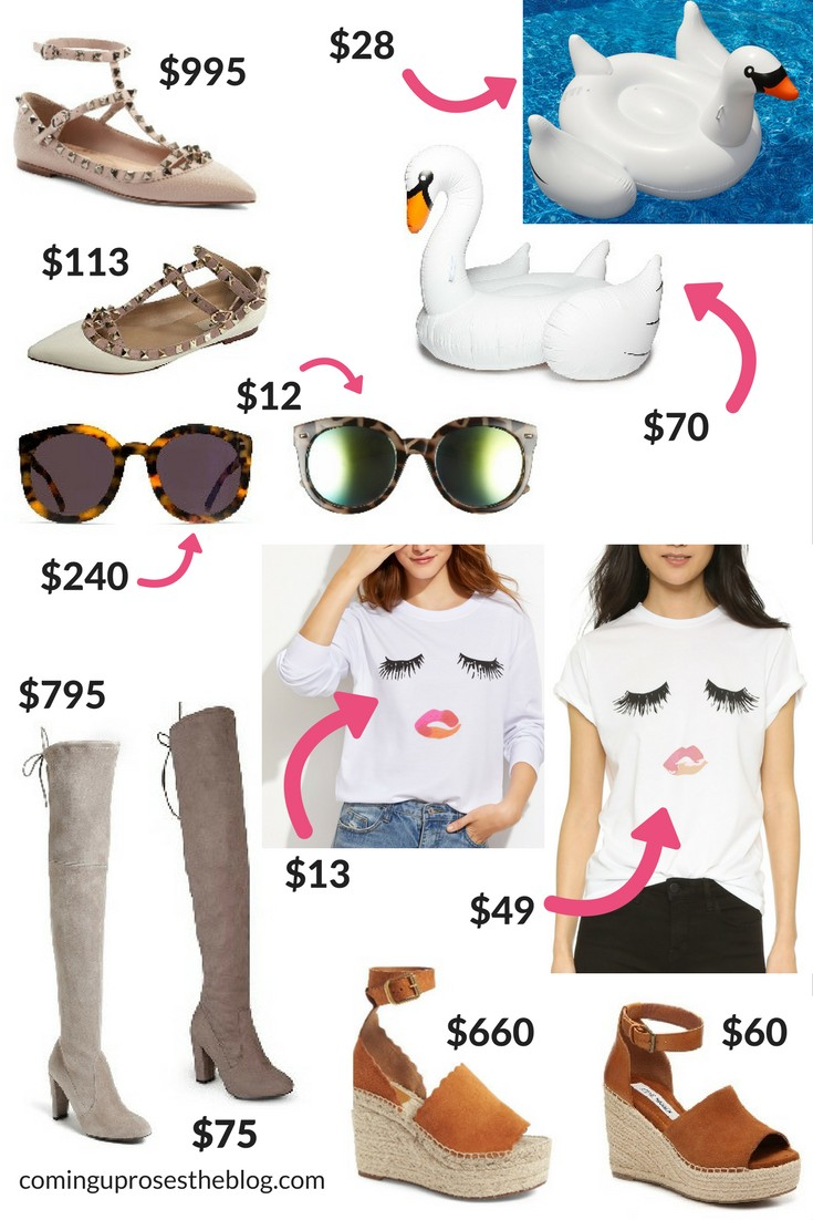 The Best Designer Dupes Fashion Style Coming Up Roses - Free cleaning invoice template gucci outlet store online