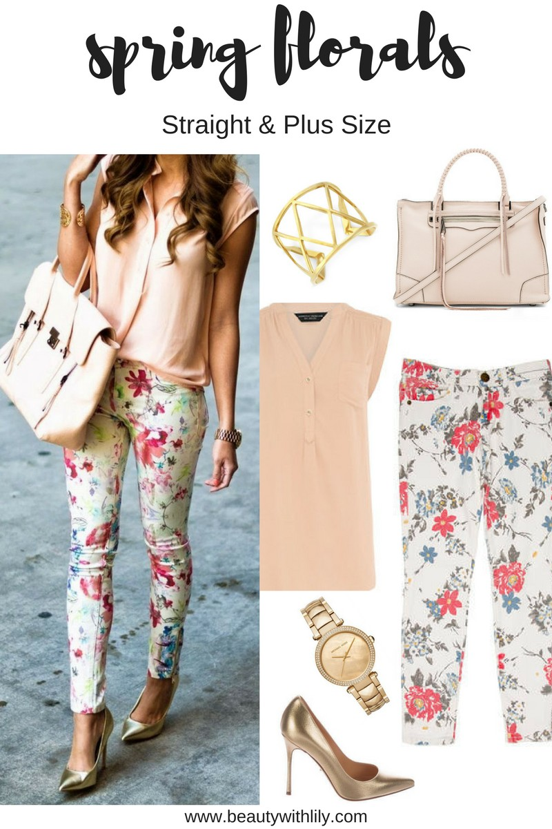 How To Style Florals // Easy, Girly Outfits With Floral Patterns | beautywithlily.com