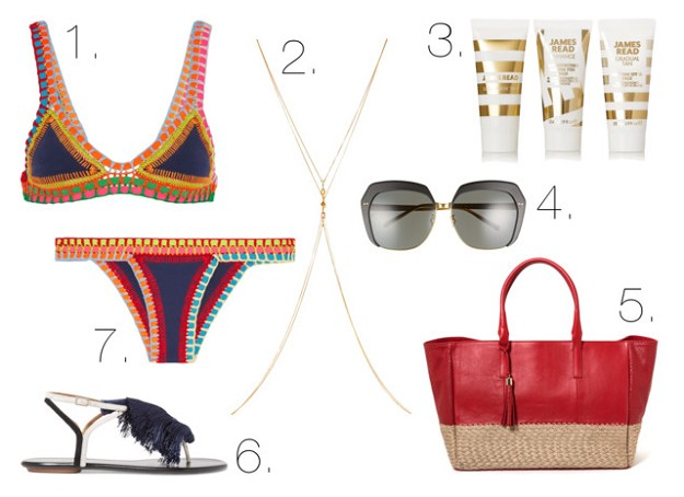 Style Guide: Swim Your Way Into Summer | Crochet-olé! | Mel Boteri Style Guide