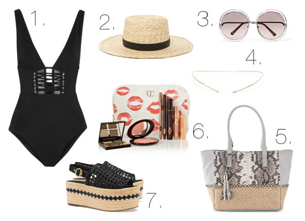 Style Guide: Swim Your Way Into Summer | Chic One Piece | Mel Boteri Style Guide