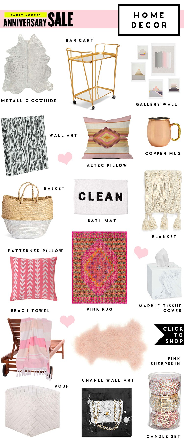 Nordstrom Anniversary Sale 2017 Best Home Decor A