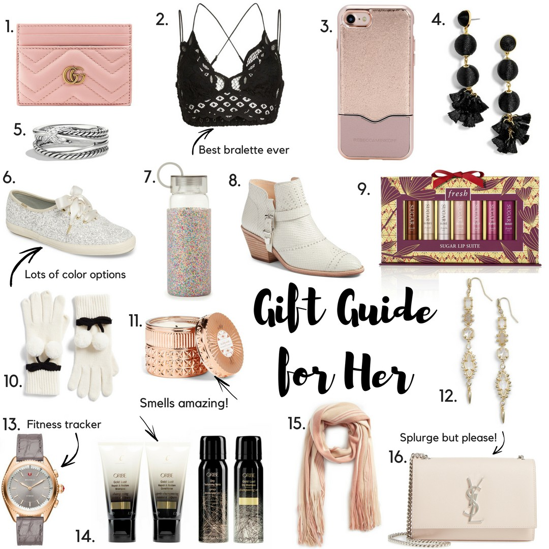 The Ultimate Gift Guide for Her by popular Orange County blogger Maxie Elle