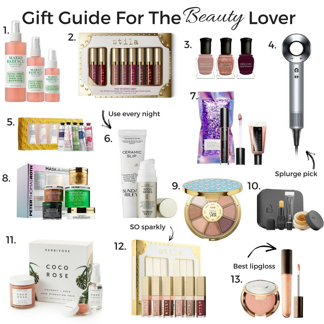 The Best Gifts for the Beauty Lover featured by popular Orange County style blogger, Maxie Elle