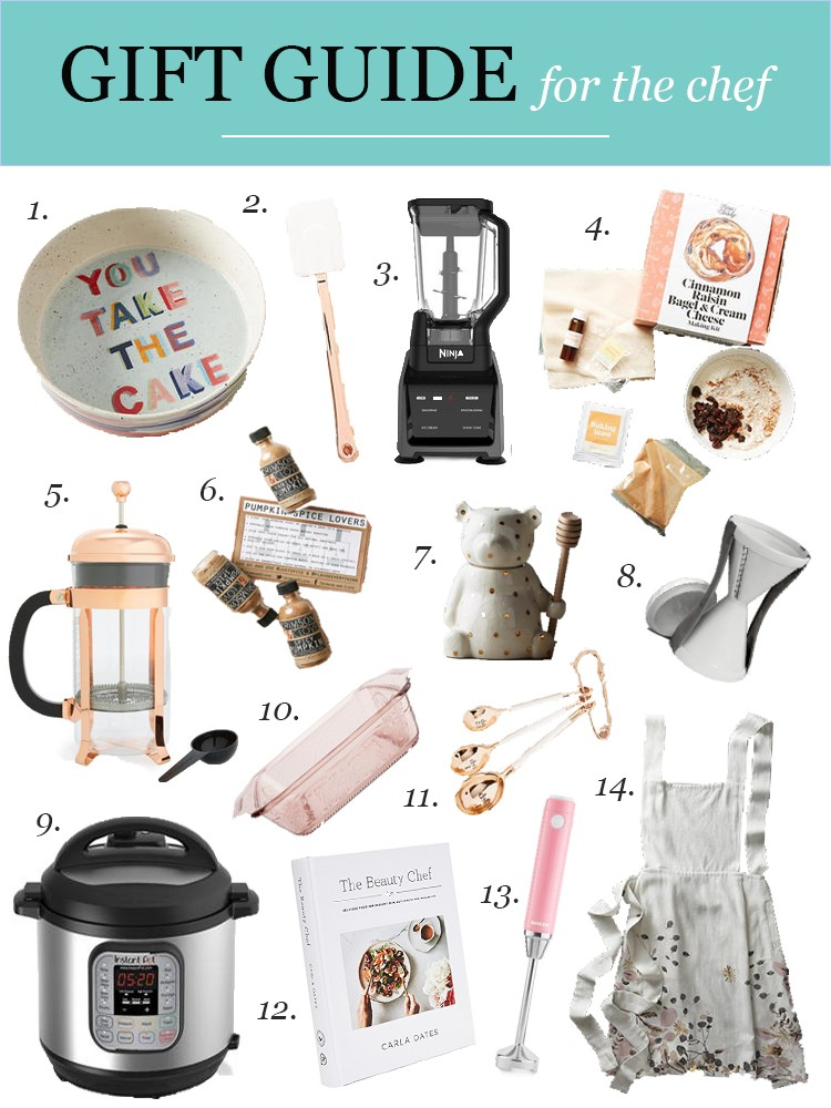 Chef Gifts Ideas Holiday Gift Guide Visions Of Vogue