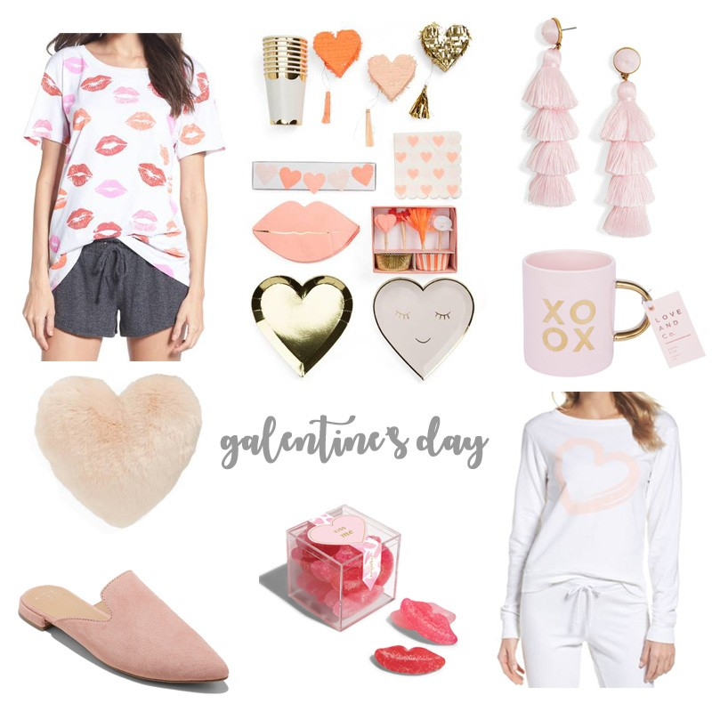 Galentine's Day Must Haves by popular party blogger Celebration Stylist