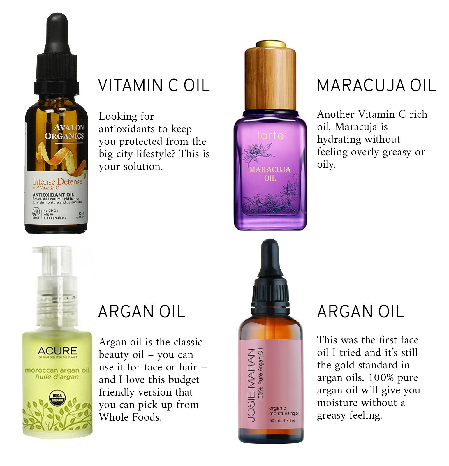 Taking Care of Your Skin: Face Oils