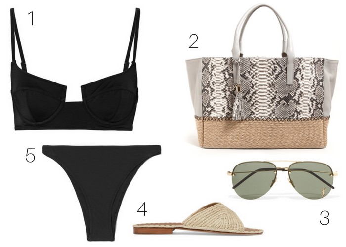 Style Guide: The Only Three Swimsuits You Need This Summer