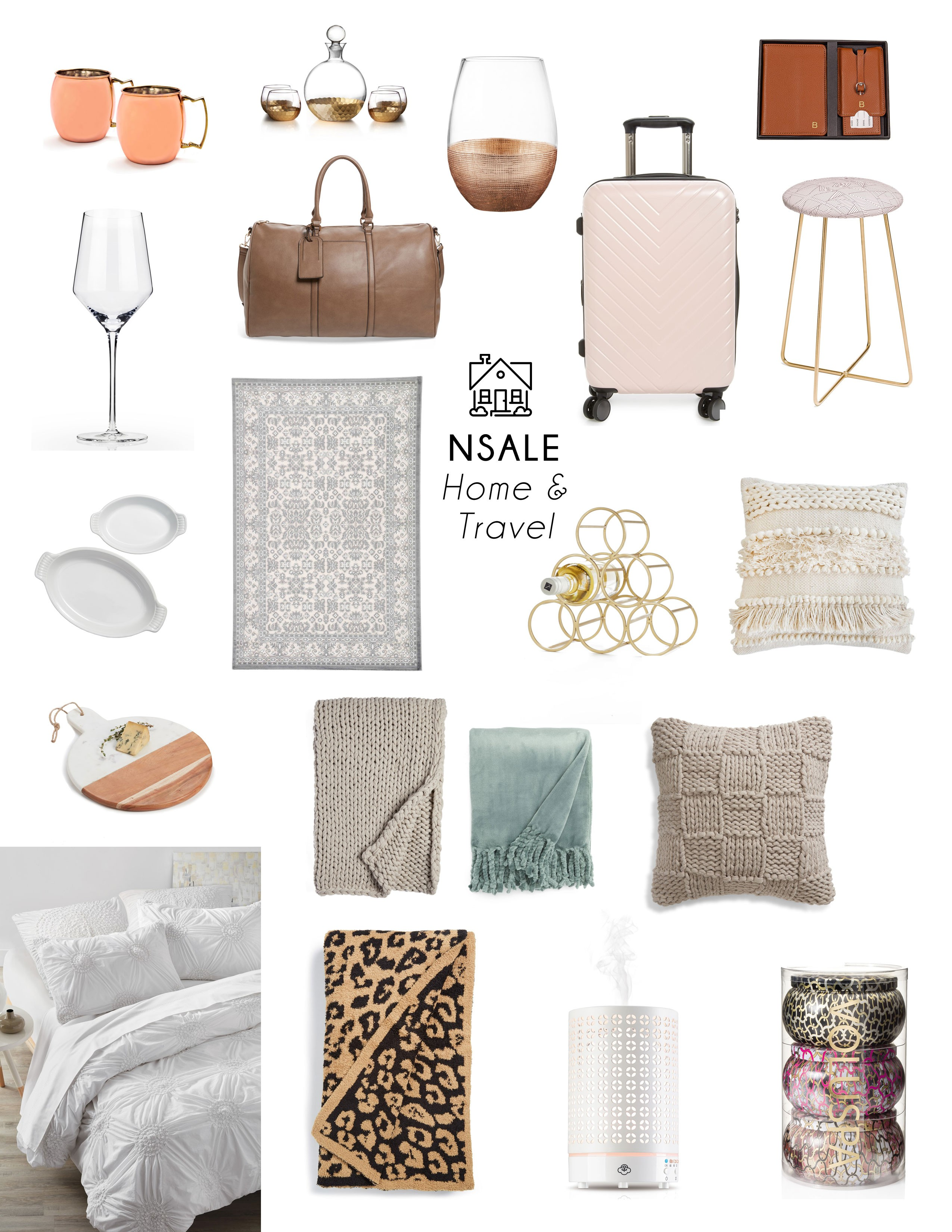 Nordstrom Anniversary Sale: Top Home and Travel Items