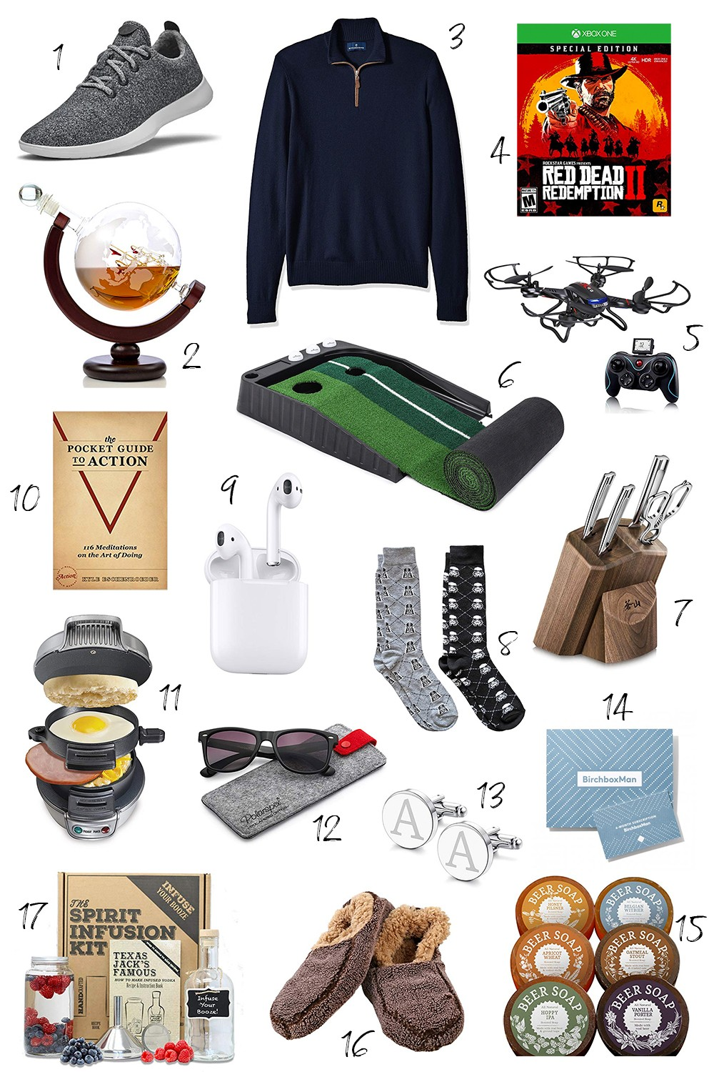 The Best Christmas Gifts for Men 2018 | Diary of a Debutante