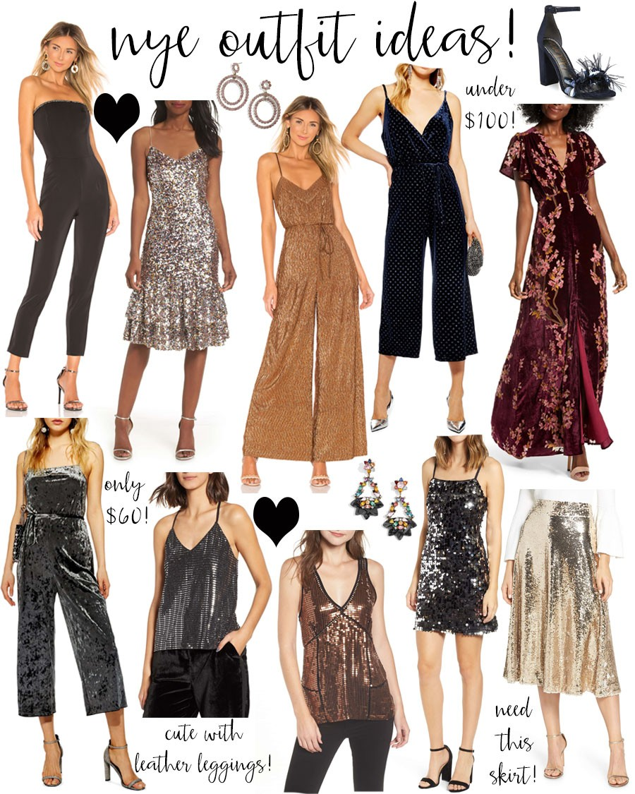new year's eve outfit ideas! - Lauren Kay Sims