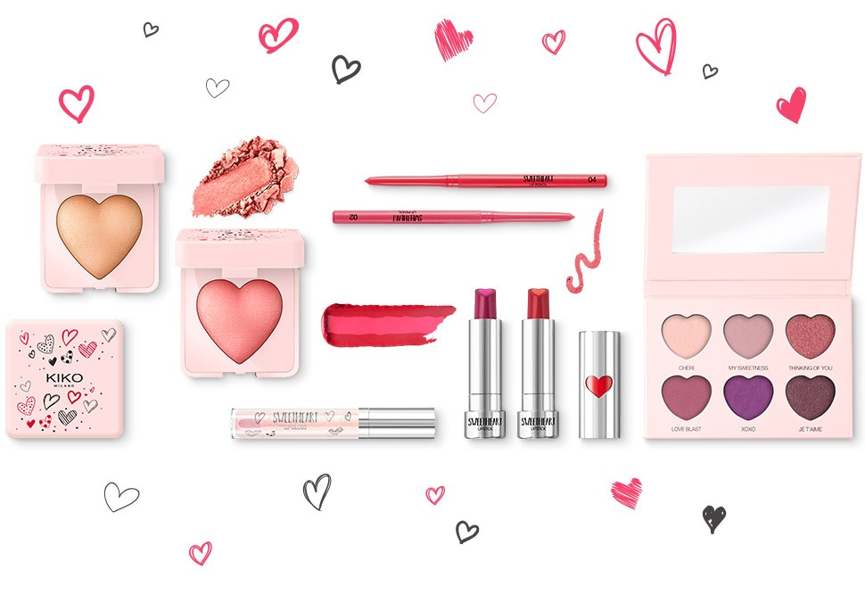 Sweetheart Valentine, Sweetheart Valentine, la nouvelle collection Kiko pour la Saint Valentin
