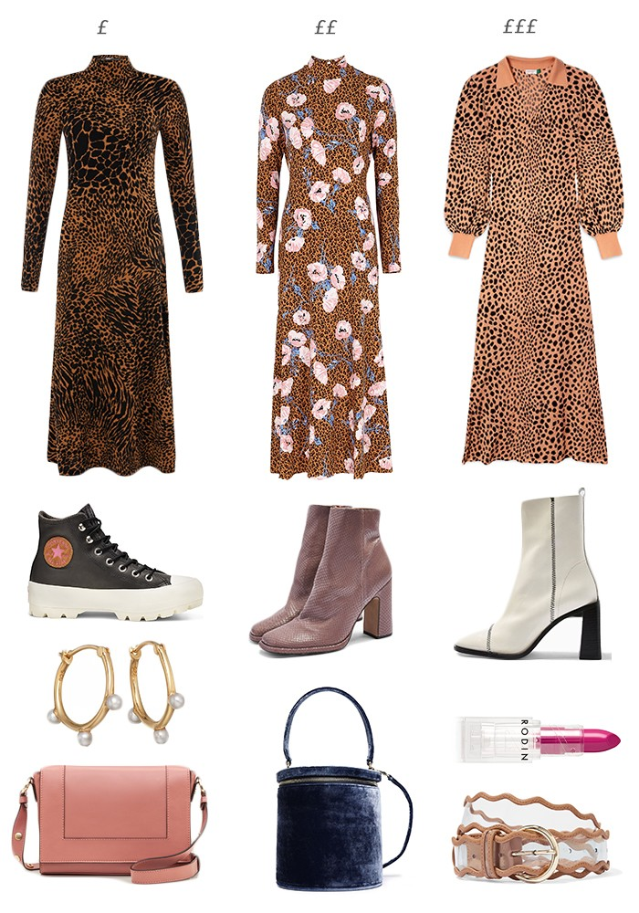 Leopard Print Midi Dresses | How To Style A Leopard Print Dress