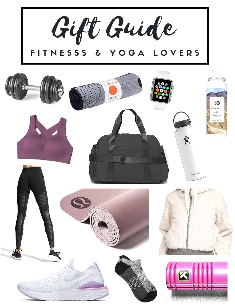 Gift Guide for Her: Fitness & Yoga Lovers by Aleah Stander