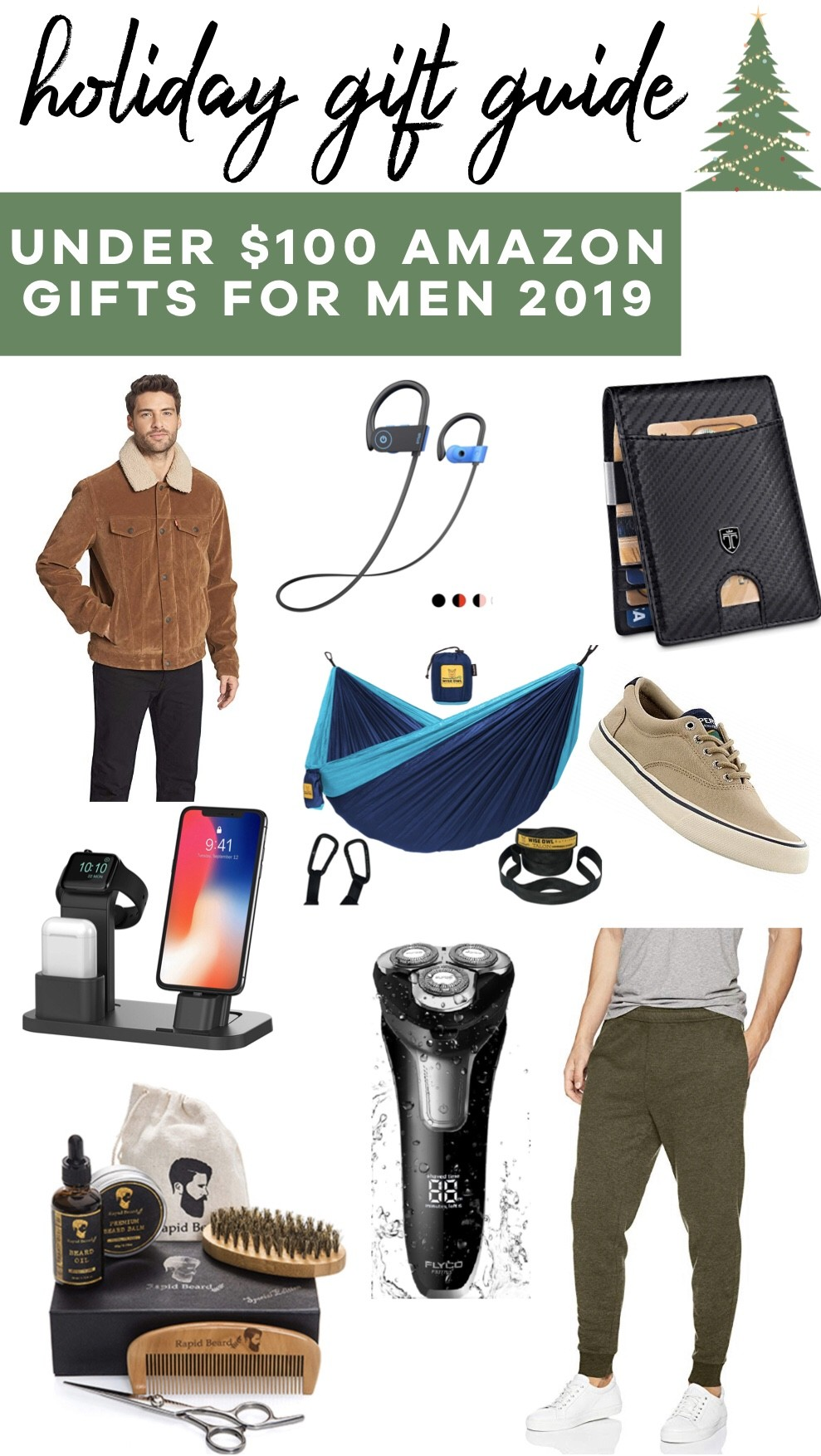 Holiday Gift Guide: Amazon Gifts for Men Under $100 | Affordable by Amanda | Holiday Gifts 2019