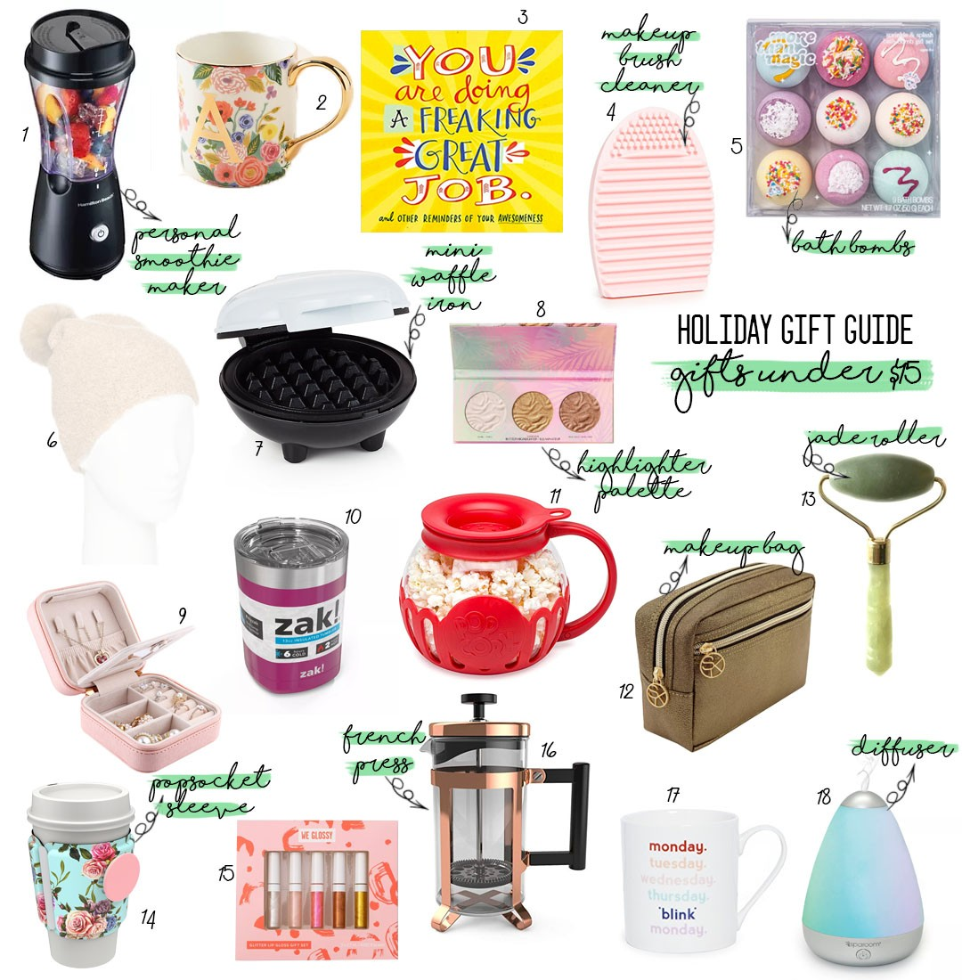 Holiday Gift Guide 2019: Gifts Under $15