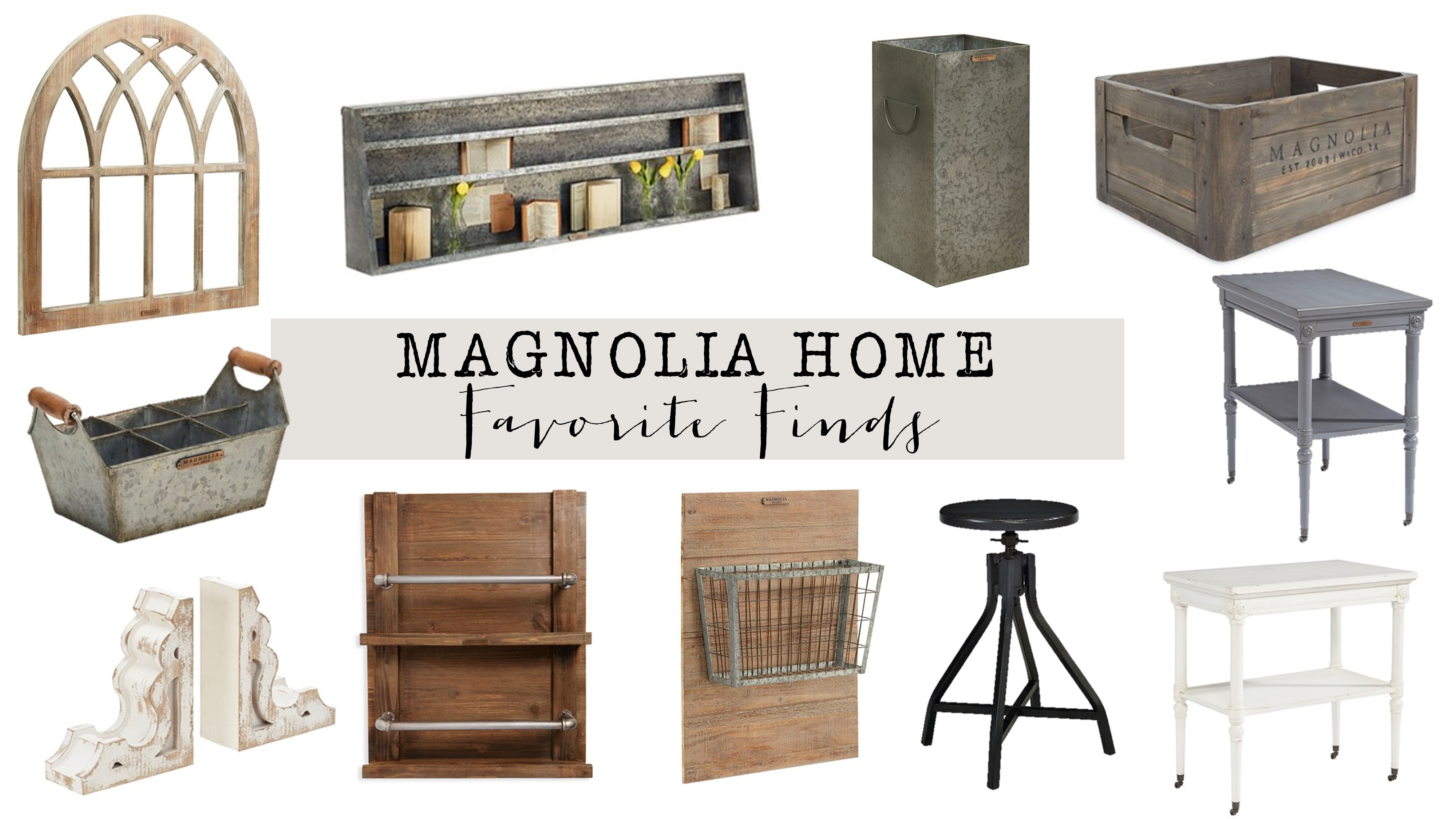 Magnolia Homes friday favorites: magnolia home decor - house of hargrove